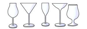 代表的なグラスの種類別特徴とおすすめ名入れグラス