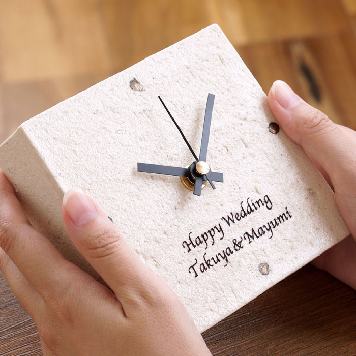 メッセージ置時計