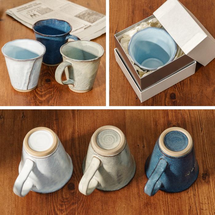 マグカップを色々な角度から見た図