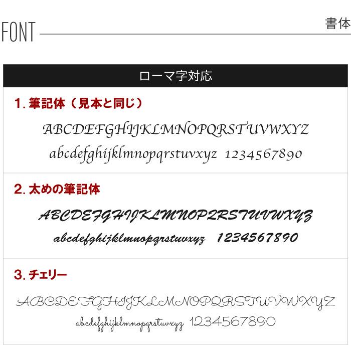 ローマ字対応書体