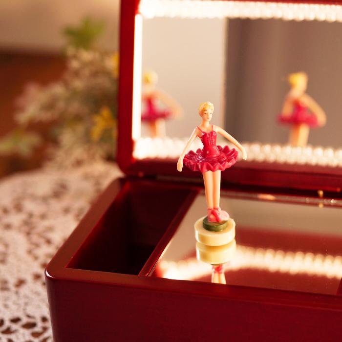 フタを開いたらバレリーナの人形