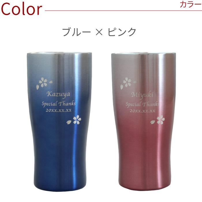 ブルー×ピンク