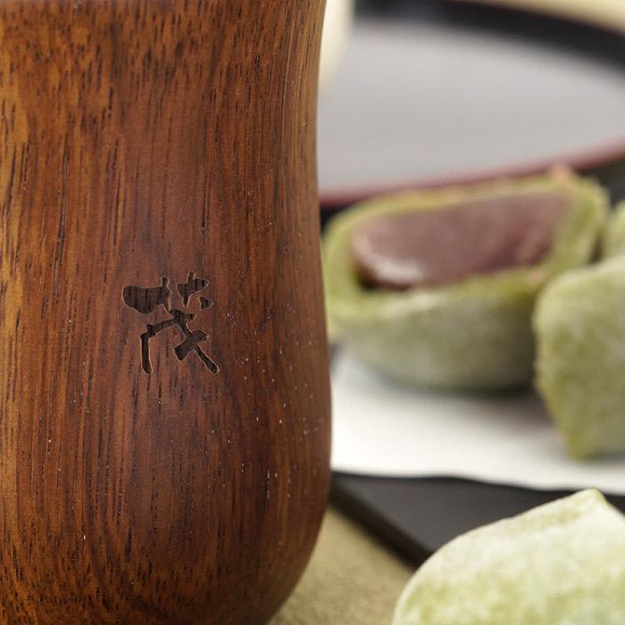 木製湯呑みペア