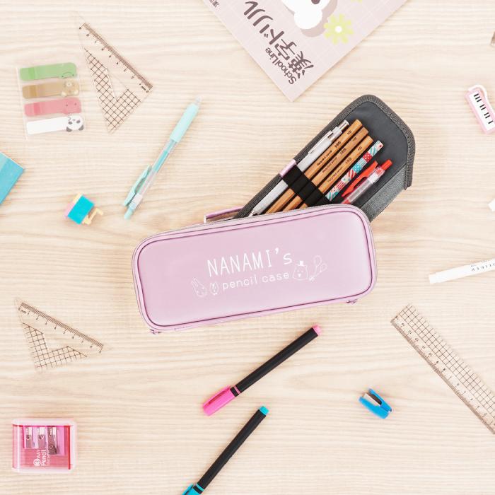 ピンクのペンケース