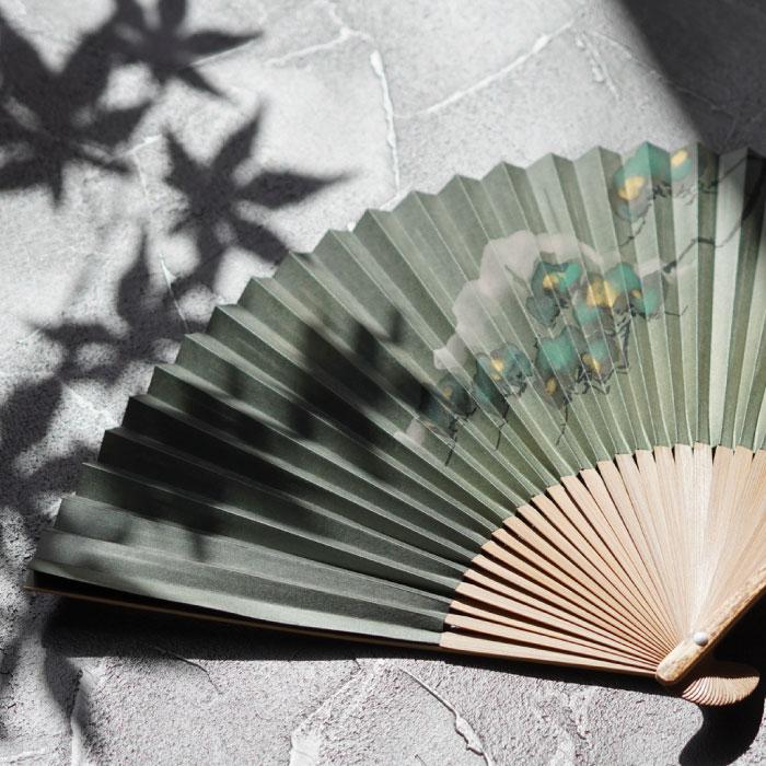 松の京扇子