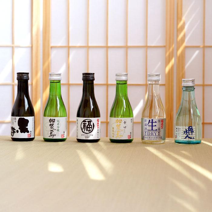 6種の日本酒