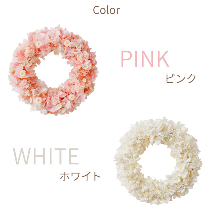 ピンク・ホワイト