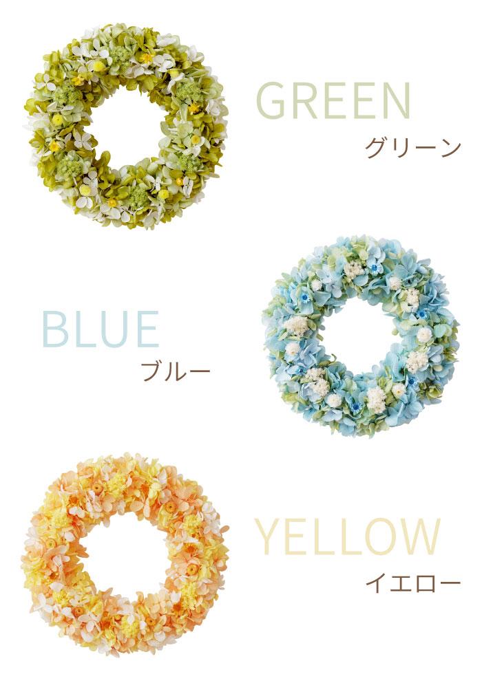 グリーン・ブルー・イエロー