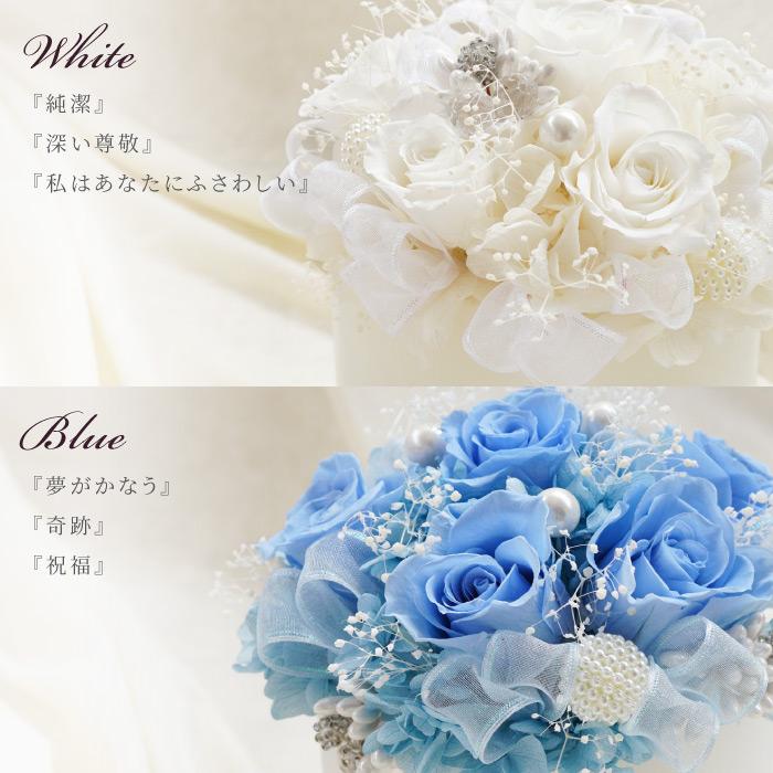 ホワイト、ブルー