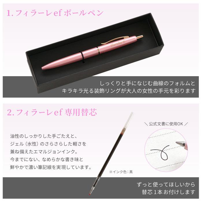 フィラーレefボールペン、専用替芯